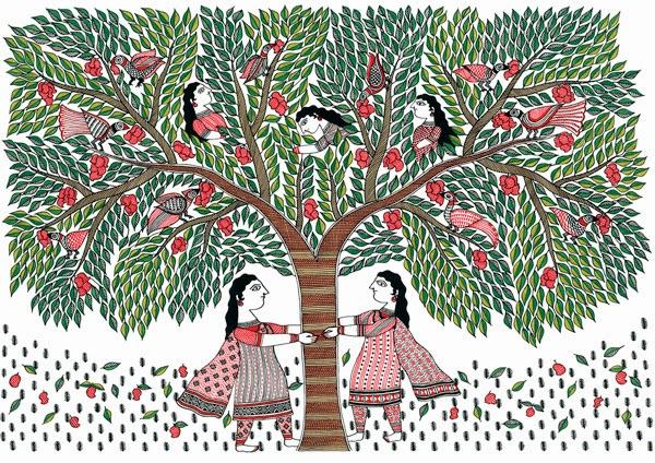Image Credit: Hope is a Girl Selling Fruit - Armita Das (2014) Tara Books.